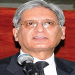 Aitzaz to submit recommendations on water crisis by June 21