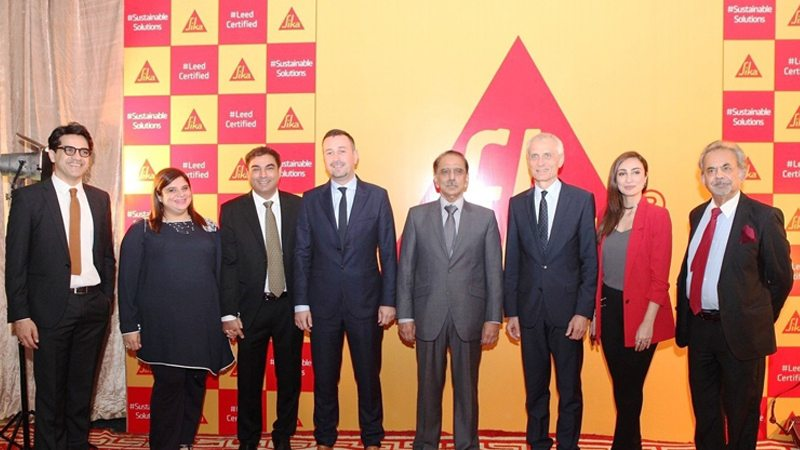 Sika launches Pakistan's first LEED-certified chemical