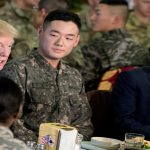 Trump's visit to South Korea