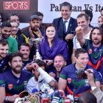 Italy defeat Pakistan in rugby match