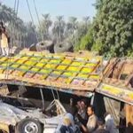 At least 17 dead, five injured in Khairpur truck,van accident