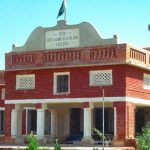 Shikarpur Degree College's iconic building is in need of renovation