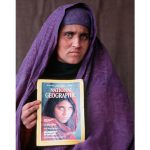 The face of National Geographic forewarns Afghan officials