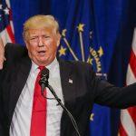 Trump-the sanitiser