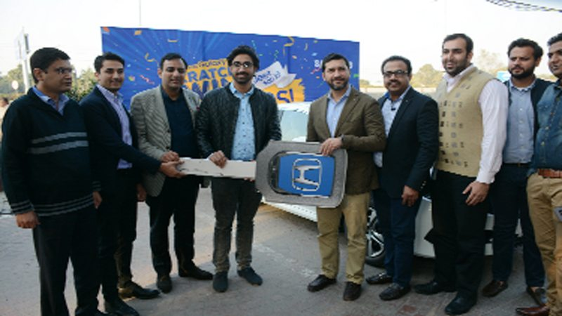 Samsung gives Honda Civic to prize-scheme winner - Daily Times