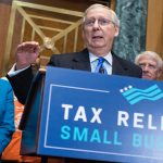 Republicans' tax plan takes a quirky swipe at the little guys