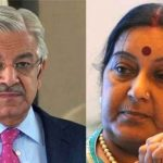 Sushma refuses to admit ceasefire violations from Indian side in letter to Asif