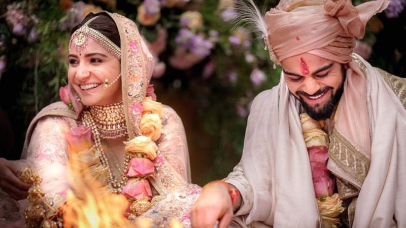 This Is How Our Pakistani Cricketers Wished Virushka On Their Wedding
