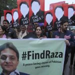 Civil society protests against Raza Khan's 'disappearance'