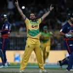 Afridi sparkles with T10's first-ever hat-trick