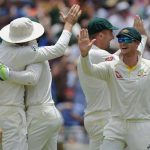England lower-order collapses after record stand to post 403 in third Ashes Test