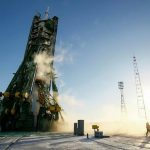 Two rookie astronauts, cosmonaut blast off to ISS