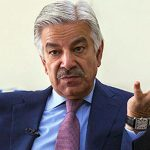 Khawaja Asif leaves for Russia on a four-day visit