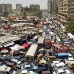 What is the real population of Karachi?