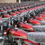 7,500 new motorcycles hit roads daily in Pakistan