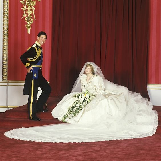 Embroidery Sequins And Around 10 000 Tiny Pearls Wasn T Exactly Understated But Then Neither Was Anything Else About Diana S Royal Wedding To