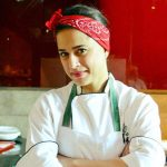 Mehreen Raheal undergoing professional training as chef; credits Structure for her fitness