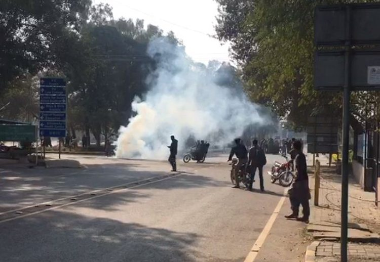 Violent clash among student groups leaves many injured at PU