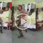 Soldier from Sindh Rangers dances on 'Mai Tera Boyfriend' and these steps are just killing