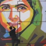 Malala honoured with mural painting in India