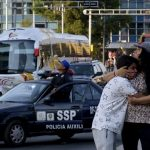Strong quake shakes Mexico, minister's helicopter crashes
