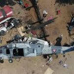 Military helicopter on earthquake mission crashes in Mexico, kills 14 on ground