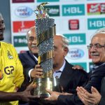 PSL trophy to be unveiled in Dubai today
