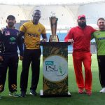 Franchise skippers unveil PSL 2018 trophy in Dubai