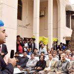 Nawaz in trouble, not democracy: Bilawal