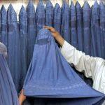 Acting under a burqa