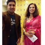 My fan moment with Shobhaa De at LLF 2018