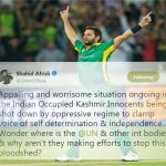 Shahid Afridi unscathed by Indian trolls' bullying