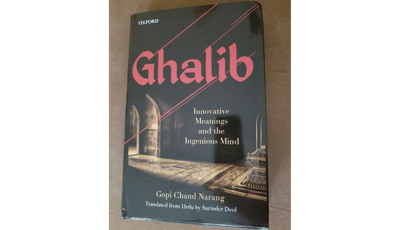 Ghalib: Innovative Meanings and the Ingenious Mind' — an