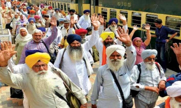 Special trains bring Sikh pilgrims to Pakistan for Baisakhi Festival