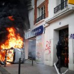 Anti-capitalism protests rock Paris on May Day