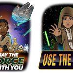 Snapchat capitalising on Star Wars Day