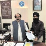 First Sikh candidate submits nomination papers for minority seat