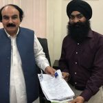 First Sikh candidate submits papers for reserved seats in Sindh
