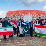 Representing Pakistan at FIFA's pre-World Cup media trip
