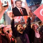 Another term for Erdogan: He's popular among his people. No matter how much you dislike him