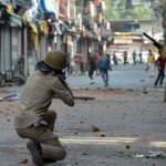 A young boy dies as Indian troops open fire