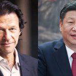 The status quo: Imran Khan and Xi Jinping