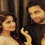 Saboor Aly writes a sincere note for sister Sajal and Ahad Raza Mir