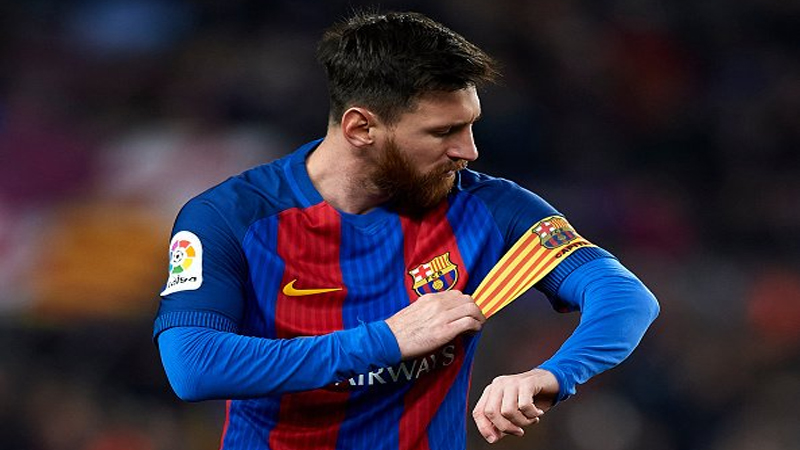 Lionel Messi Named Barcelona Captain Daily Times