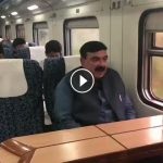 Sheikh Rashid's publicity stunt backfires after users commend Saad Rafique over train video