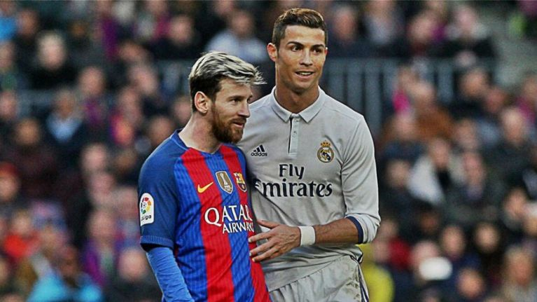 ronaldo messi 1024x559 - The Moment A Fan Compared Wizkid And Davido To Messi Cristiano And Ronaldo – See Whose Side Tunde Ednut Is