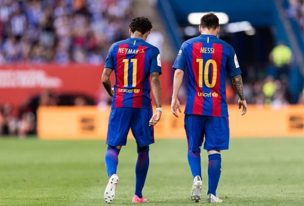 Image result for neymar with messi