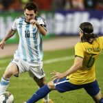 'Messi is the best' says Filipe Luis