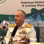 Naval chief dwells upon ties with US, India, Afghanistan