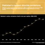 Infographic: Pakistan's carbon emissions